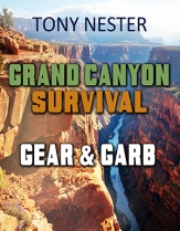 A Grand Canyon Survival Kit NEW XS