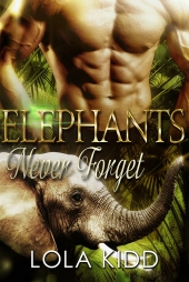 Elephants Never Forget COVER DESIGN
