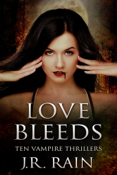 Love Bleeds Vampire Cover Design