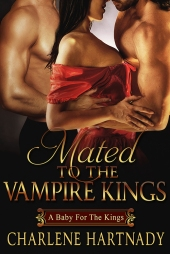 Mated To The Vampire Kings Book Cover