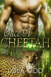 Once a Cheetah COVER DESIGN