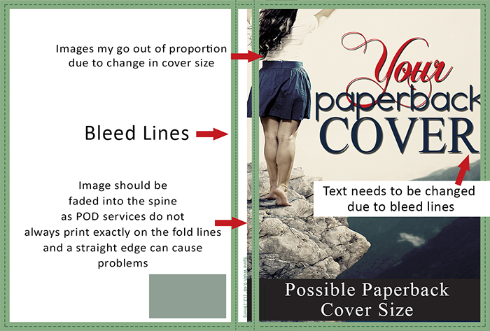 Paperback Book Covers for Createspace & KDP   EBOOK INDIE COVERS