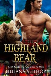Highland Bear SET $180