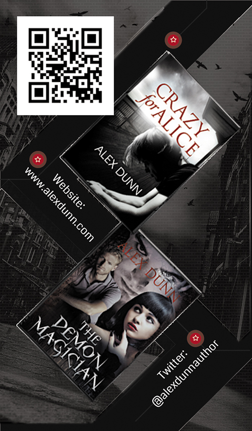Author business card designs ebook indie covers for Author business cards example
